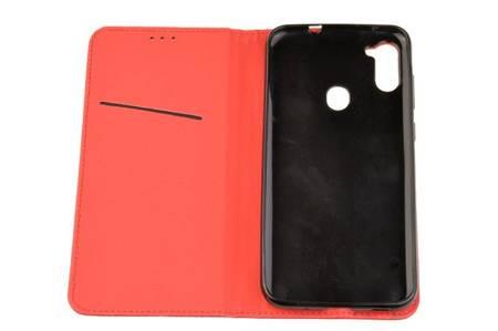 Etui Smart do Samsung Galaxy M11 / A11 czerwony