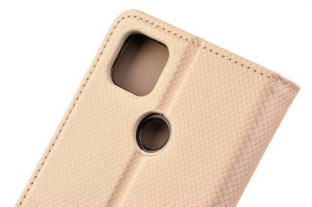 Etui Smart do Xiaomi Redmi 9C złoty