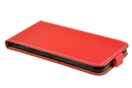 Etui kabura Flexi Rubber do HUAWEI P20 Lite czerwony