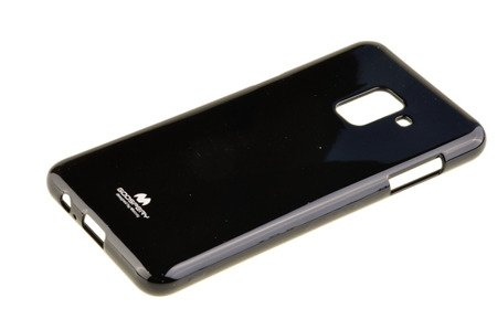Etui nakładka Mercury Goospery Jelly Case do SAMSUNG GALAXY A8 2018 A530 czarny