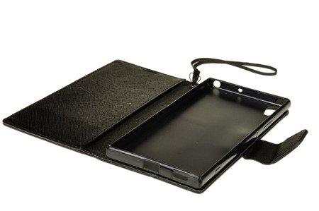 Etui portfel Fancy Case do SONY XPERIA XA1 UTLRA czarny
