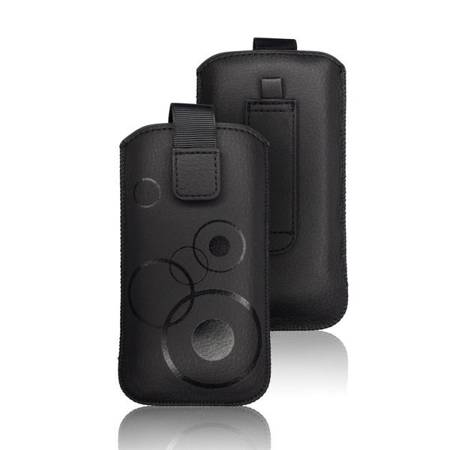 Etui wsuka na rzep do Samsung Galaxy S20 Plus / 20+ czarny