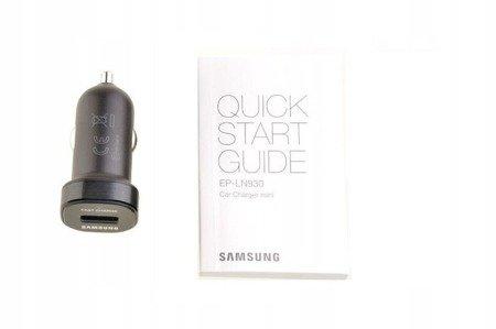 Oryginalna szybka ładowarka samochodowa Samsung Mini Fast charger