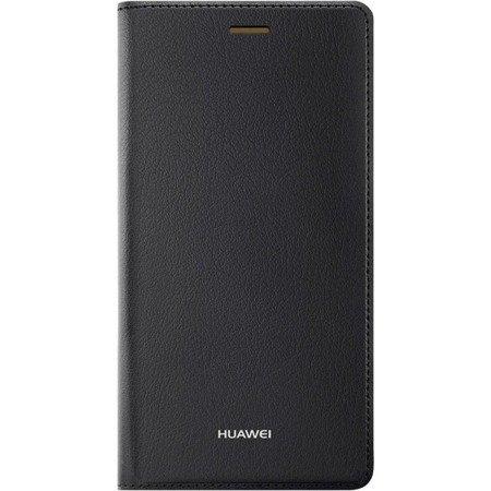 Oryginalne Etui Flip Cover do HUAWEI P8 Lite czarny