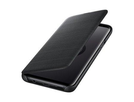Oryginalne etui Led View Cover do SAMSUNG GALAXY S9+ / S9 Plus G965 czarny