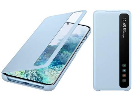 Oryginalne etui Smart Clear View Cover do Samsung Galaxy S20 / S20 5G niebieski