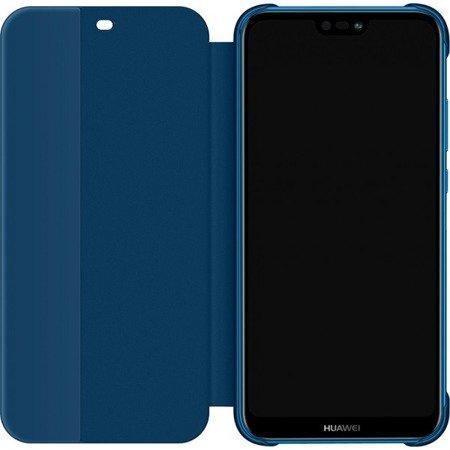 Oryginalne etui Smart View Flip Cover do HUAWEI P20 Lite niebieski