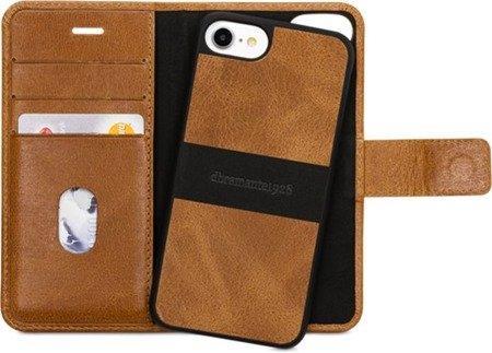 Skórzane etui kabura dbramante1928 Lynge 2 do Apple iPhone 7 / 8 brązowy