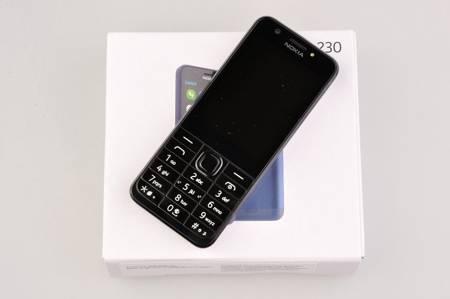 TELEFON KOMÓRKOWY NOKIA 230 DUAL SIM czarny