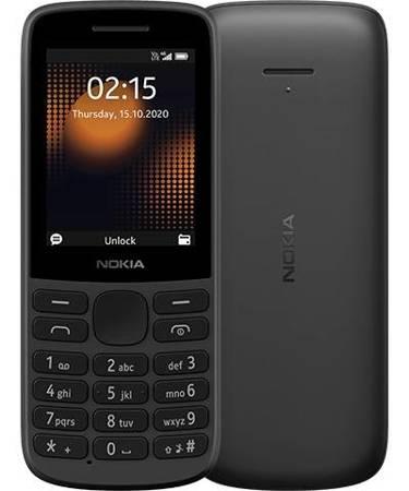 Telefon komórkowy Nokia 215 4G Dual Sim czarny