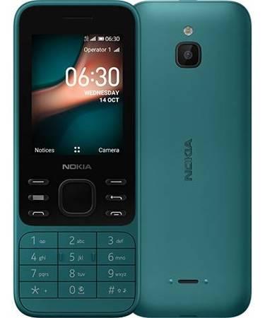 Telefon komórkowy Nokia 6300 4G zielony